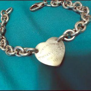 Authentic Tiffany & Co Return To Heart Bracelet